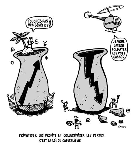 La loi du capitalisme ! dans Humour privat